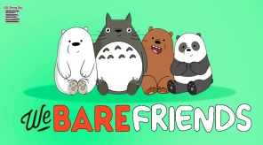WE BARE FRIENDS..
